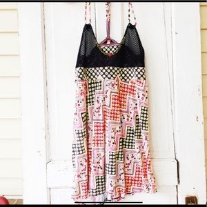 SO CUTE FREE PEOPLE MINI DRESS OR LONG TUNIC